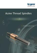 BJ Gear Acme Thread Spindles