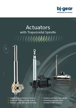 BJ Gear Actuators