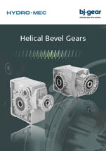 BJ Gear Helical Bevel Gears from Hydromatic