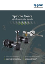BJ Gear Spindle Gears