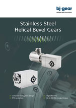 BJ Gear Stainless Steel Helical Bevel Gears