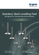 BJ Gear Stainless Steel Leveling Feet