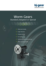 BJ Gear Worm Gear Catalog