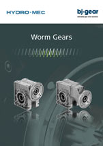 Hydromec Worm Gear Catalog